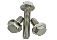 Stainless Steel 310s M6 stud bolt with nut and washer