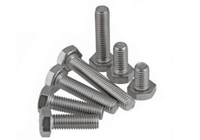 AISI standard ss310 stainless steel hex bolt and nut